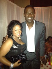 Tisha Lee and Brian McKnight