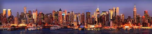 New York Skyline by palendromist, on Flickr