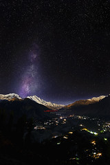 Hunza Valley (Usman Hayat ~back~) Tags: night stars photography star nikon long exposure valley 28 nikkor hunza hayat d800 usman 1424 uhayat notastartrail rememberthatmomentlevel1