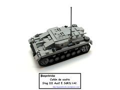 SturmgeschutzIIIE-00 (Panzerbricks) Tags: lego wehrmacht stugiii legotank legopanzer panzerbricks sdkfz142