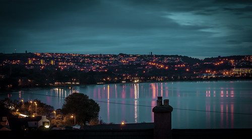 Early evening Swansea Bay 14 Oct 2012