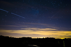 ISS pass tonight with a meteor going south (corinne mills) Tags: Astrometrydotnet:status=solved Astrometrydotnet:version=14400 Astrometrydotnet:id=alpha20121009866119