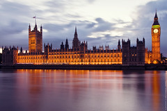 Palace Of Westminster (EricP2x) Tags: old city uk longexposure greatbritain light urban reflection building london tourism beautiful westminster thames skyline architecture clouds facade reflections river landscape evening photo view dusk gothic towers 19thcentury victorian housesofparliament parliament bigben grand clocktower explore filter views nd stunning favourites canon5d bluehour favourite riverthames westend turrets comments waterway slowshutterspeed urbanphotography palaceofwestminster gothicarchitecture gothicrevival londonskyline charlesbarry urbanity victoriatower westminsterpalace beautifulbuilding victoriangothic neutraldensityfilter neutraldensity riverreflections explored i500 iconicbuilding reflectionsinriver theunforgettablepictures londonphoto lightingscheme amazinglondon visipix