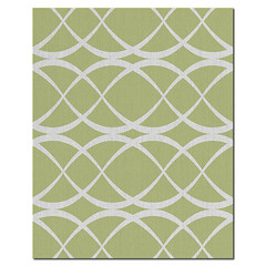 Dune Wool Rug in  Lime and Natural (PURE Inspired Design) Tags: customfurniture organicfabric ecofriendlyfurniture woolrugs