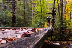 The Spot (regularjoe) Tags: bridge mountainbiking blueridge pisgah appalachain