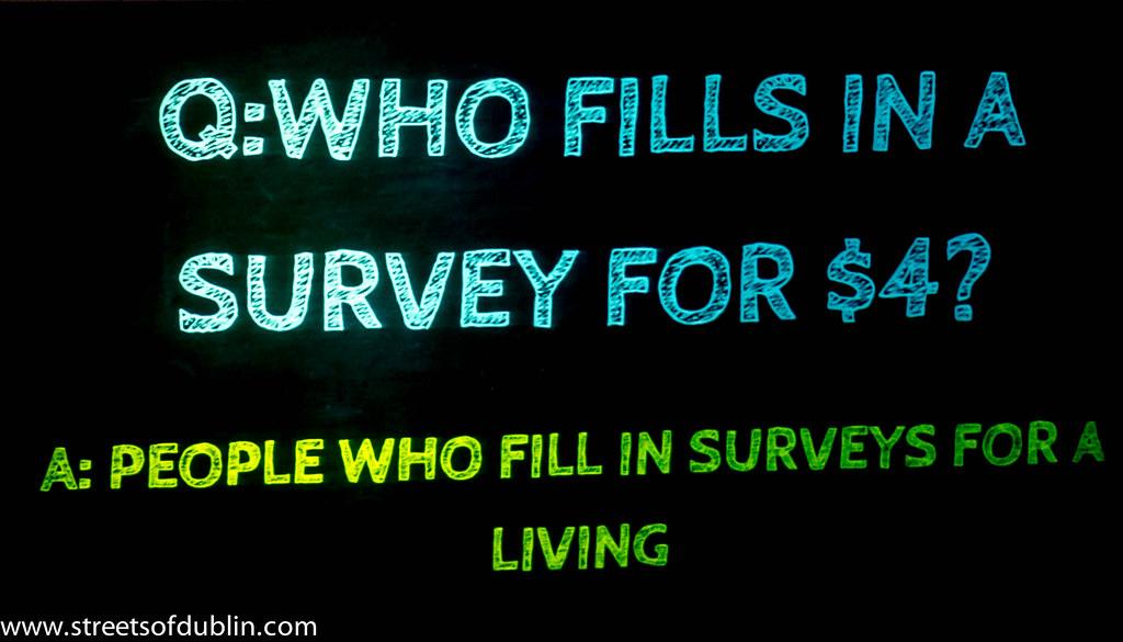 Who Fills In A Survey: Web Summit 2012 In Dublin (Ireland)