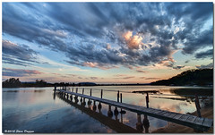 IMG_6271enthuseb (Steve Daggar) Tags: sunset pier jetty wharf centralcoast hdr cloudscape enthuse woywoy