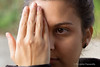 Spare an eye to take a look at yourself (Panda.*) Tags: portrait eye girl look lens gold switzerland pub hand minolta murrayfield g sony 45 take konica mm dynax 300 alpha 70 yourself sal 56 slt ch maxxum a77 konicaminolta 70300 chiasso 4556 sal70300g slta77