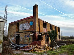 Boys Village, West Aberthaw (Paula J James) Tags: david southwales wales urbandecay barry graffitti vandalism welsh davies valeofglamorgan miners valleys holidaycamp aberthaw rhoose stathan westaberthaw boysvillage