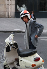Scooter Boy (Toni Kaarttinen) Tags: street boy portrait people man paris france guy scarf french frankreich candid helmet frana hunk scooter streetphoto frankrijk prizs francia iledefrance parijs parisian pars  parigi frankrike frenchman frenchmen parisians candidphoto  pary   francja ranska pariisi  franciaorszg  francio parizo  frana