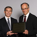 Representatives of Fast + Epp accepting an Award of Excellence / Représentants de Fast + Epp qui acceptent un prix d'excellence