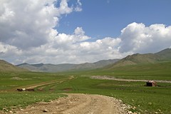 The road ahead (bag_lady) Tags: road rural landscape asia tracks mongolia remote wilderness northernmongolia
