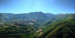 Vallo di Nera (Lanfranch) Tags: europa italia stitched hdr umbria repubblicaitaliana appennini valdinera