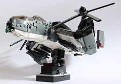 Dragonfire Gunship (✠Andreas) Tags: lego military eu vtol gunship dragonfire thepurge legovtol legogunship legoairvehicle eugunship