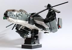 Dragonfire Gunship (✠Andreas) Tags: lego military eu vtol gunship dragonfire thepurge legovtol legogunship legoairvehicle eugunship