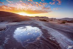 Desert Sunrise (Abdullah Al-Okime lI  ) Tags: sunset sunrise canon landscape desert cloudy mark ii 5d