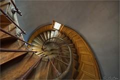 Spiral Staircase 2012-08-10 100024 hdr (AnZanov) Tags: france castle photographer andrea scala chateau francia castello hdr loira hdri chiocciola greatphotographers mygearandme mygearandmepremium mygearandmebronze mygearandmesilver mygearandmegold zanovello anzanov