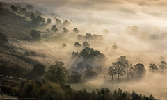 trees and fog (awhyu) Tags: fog landscape photography hope district derbyshire peak andrew valley yu tor mam wwwandrewyucouk