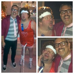 Me & Richard Simmons at an 80's party