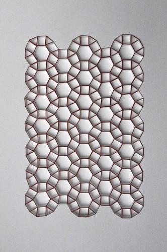 Herman Coppus papier reliëf