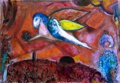 M. Chagall. Cantico dei Cantici IV (Mattia Camellini) Tags: wedding painting arte surrealism spouse bible bibbia matrimonio nizza sposa quadri espressionismo marcchagall sonydscf828 surrealismo carlzeiss pittura fauvismo oliosutela musenationalmessagebibliquemarcchagall canticodeicantici mattiacamellini sacrascrittura variosonnart2287151