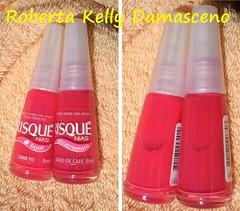 Risque, você está me enganando? (Roberta Kelly Damasceno) Tags: nails sharpei risque unha esmalte grãodecafé vermelhorosado rosaavermelhado