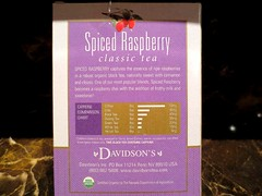 Davidson's Spiced Raspberry Black Tea (DianesDigitals) Tags: tea drinks camellia camelliasinensis davidsons teaplant dianesdigitals