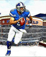 Matthew Stafford-Detroit Lions QB (Bob Smerecki) Tags: auto sunset art love wet water colors vegetables smart pencil watercolor boats book photo chalk fishing artwork dynamic bright god 21 5 father jesus fine bob felt tip virtual monet sunflowers pastels painter wax illustrator editor benson camille heavenly starry sargent cezanne tempera realism gmx aquarell klimpt smackman snapnpiks smerecki portraitlist