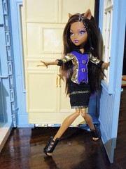 High on Heels! (Eilantha DamaIndaco) Tags: werewolf wolf doll playset figlia deadtired fashiondolls lupomannaro deianira clawdeen monsterhigh uratha aroomtohowl