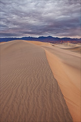{ desert storm } (allen ninh) Tags: california park storm lines sunrise canon landscape sand desert flat dunes national mesquite 5d deathvalley leading gitzo markii acratech 1740l 2541 gv2