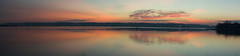Potomac River Sunrise Pano (Tony DeFilippo) Tags: panorama bicycle dawn virginia pano dcist bikeride sunrisesunset potomacriver mountvernontrail nikond600 nikon10525ais