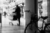 Storie di ordinaria fretta (carlocava) Tags: motion streetshots movimento bianconero mosso fretta giorno ordinaria carlocavalletti