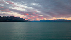 Mt Cook's on fire #1 (Tkappa) Tags: newzealand canterbury mtcook southisland lakepukaki