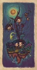 Tributo/Coraline/ParaNorman/LaikaHouse (Anita Mejia) Tags: cute art illustration painting drawing neil wip norman laika colos coraline chocolatita anitamejia paranoran