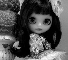 Rhemy in a black and white moment...