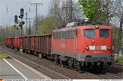 DB140013GB_250408 (Catcliffe Demon) Tags: germany deutschland europe db railion e40 electriclocomotive dbcargo dbschenker germanytrip2apr2008 railiondblogistics dbrailionlogistics baureihe140 140class