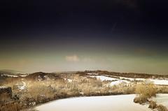 The big freeze (Eric Goncalves) Tags: blue trees winter england sky snow cold color beautiful clouds landscape frozen frost shadows gloucestershire treescape array nikond7000 ericgoncalves