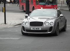 Bentley Continental Supersports (kenjonbro) Tags: uk england cold london westminster silver grey trafalgarsquare continental coupe charingcross bentley sw1 supersports worldcars kenjonbro r12wob