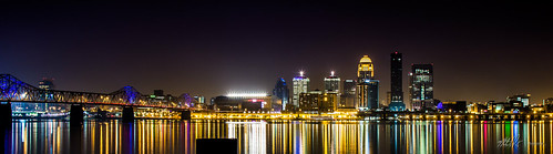 Downtown Louisville - Little Big City Lights