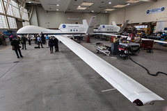 Global Hawk Wing (Kevin Baird) Tags: wing nasa dryden dfrc globalhawk nasatweetup nasasocial nasaairborne