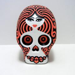 skull3jan2012ft (jeva jeva) Tags: sculpture de dayofthedead dead skull los day dia diadelosmuertos muetos