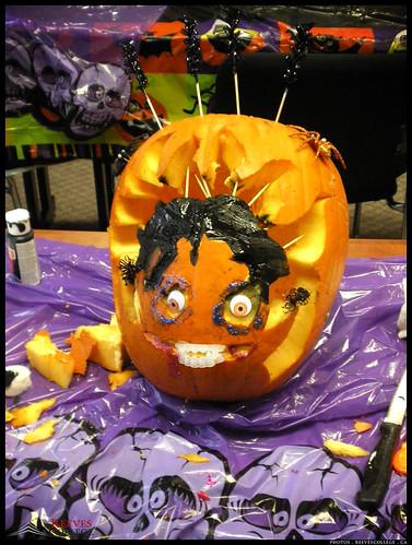 2012 Reeves College Calgary North Campus Betty Boop Zombie Pumpkin