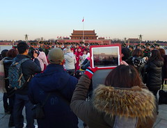 i-Tiananmen Square (Fear_Through_The_Eyes) Tags: china street morning travel beijing tiananmensquare ipad