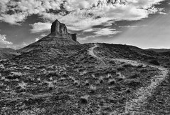 Afternoon Trail (Jeff Clow) Tags: nature landscape bravo trail western moabutah theoldwest professorvalley jeffrclow tpslandscape