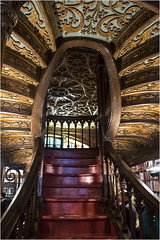 3579-ESCALERAS DE LA LIBRERA LELLO- OPORTO - (-MARCO POLO-) Tags: librerias ciudades rincones establecimientos antigedades curiosidades arte