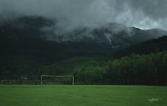 When beautiful game met mother nature (Nitz_Foto) Tags: football soccer meesapulimala munnar kerala india ground nature mountains waterfall forest trees travel fog green canon eos550d monsoon rains