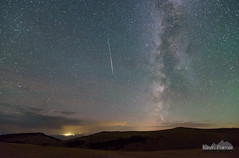 The Longest Streak (kevin-palmer) Tags: huntmountain bighornmountains bighornnationalforest august summer nikond750 tokina1628mmf28 perseid perseids meteorshower perseidmeteorshower meteor shootingstar milkyway galaxy dark night sky stars starry astronomy astrophotography greybull clouds green airglow early morning astrometrydotnet:id=nova1688909 astrometrydotnet:status=failed