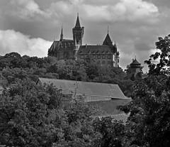 Wernigerode Castle (garstangpost.t21) Tags: wernigerodecastle germany harz blackandwhite flickrunitedaward