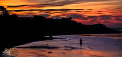 The Fisherman (Impact Imagz) Tags: galloway myrochpoint fisherman twilight seascape seashore silhouette sunset cloudsstormssunsetssunrises scotland visitscotland dumfriesandgalloway