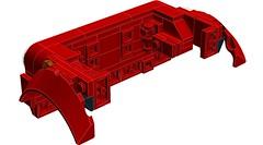 saabfan2013's Fiat 500 F Building Technique on LDD! (RS 1990) Tags: fiat500 lego digitaldesigner ldd building technique saabfan2013 felixstiesen moc recreation replication